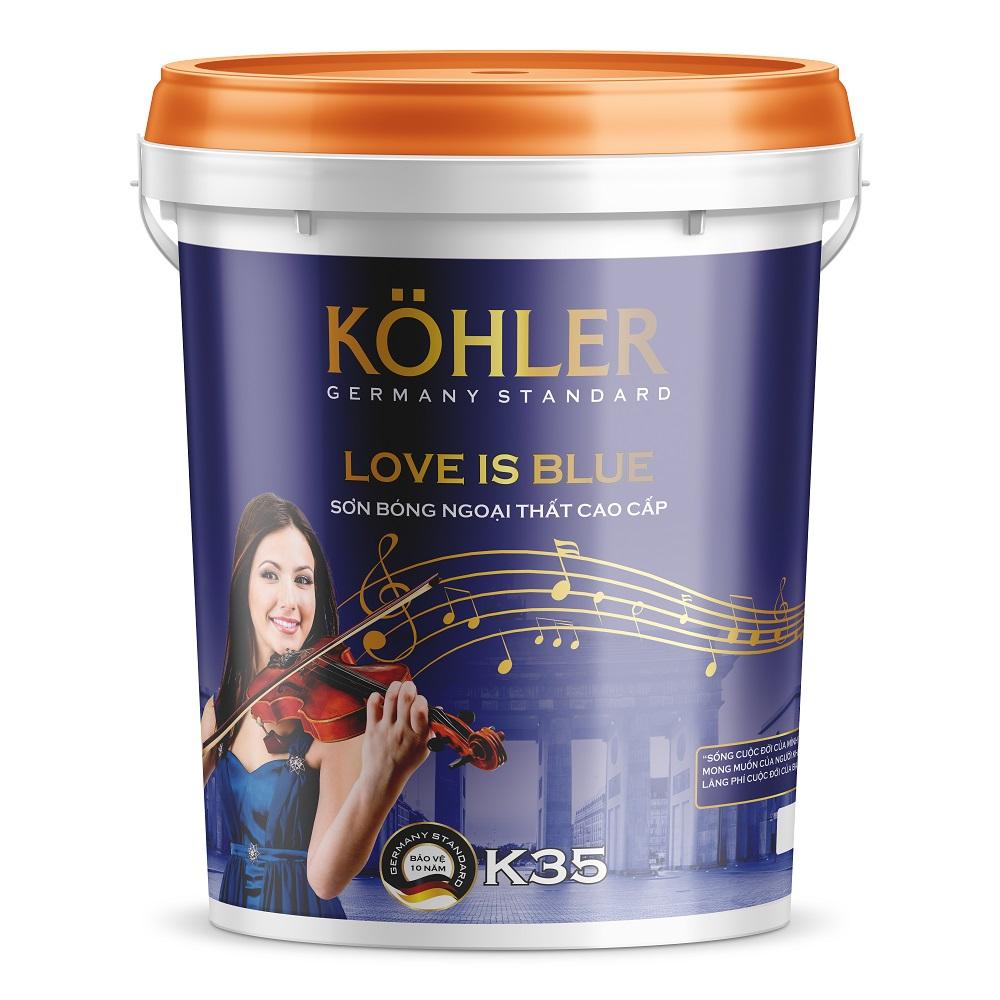 Sơn bóng ngoại thất cao cấp - LOVE IS BLUE